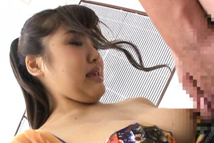 Yuuka kojima. Yuuka Kojima Asian is pumped and gets her panty to smell after