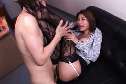 Akari asahina. Akari Asahina Asian is doggy nailed and has cans touched at job
