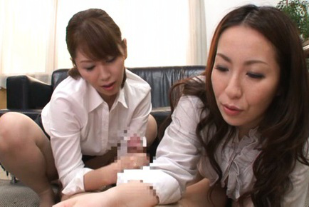 Chisato shohda. Chisato Shohda Asian and dame in uniform rub