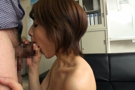 Yukina. Yukina Asian with juicy breasts has nooky have intercourse with two fingers