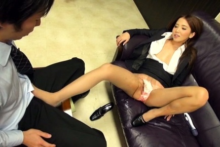 Ayaka tomoda. Ayaka Tomoda Asian rubs pussy in man face and