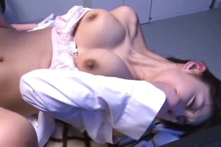 Hina akiyoshi. Hina Akiyoshi Asian with great boobs gets penish